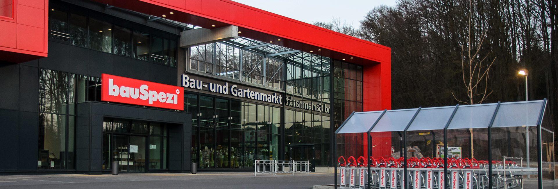 Der bauSpezi Baumarkt und Heimwerkermarkt in Parsberg