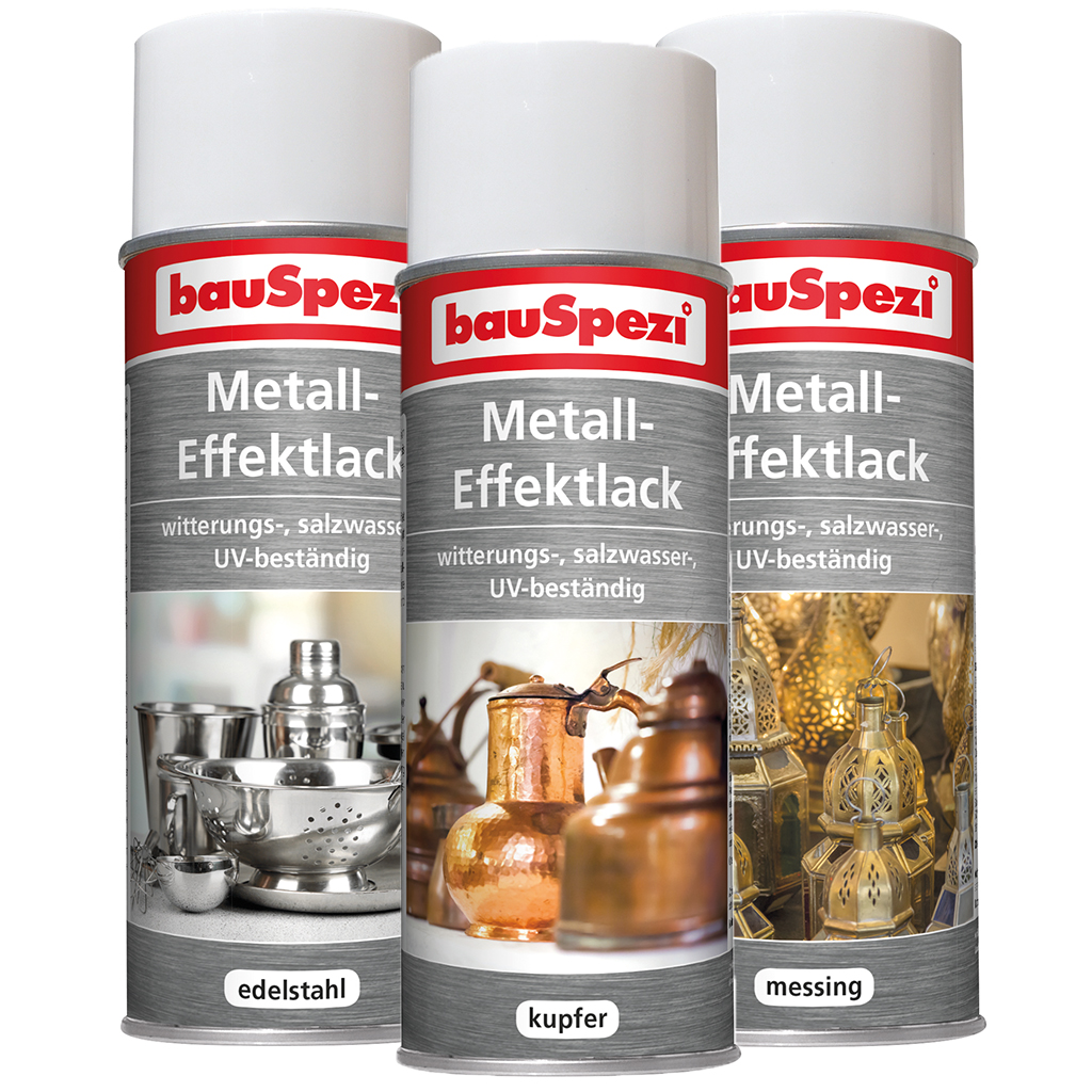 bauSpezi Metall-Effektlack